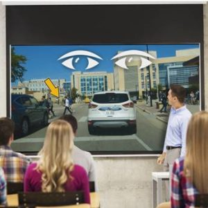 Use this distracted driving prevention program to demonstrate change blindness and introduce a strategy to maintain your focus on the road.