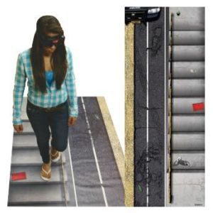 The DIES® Roadside Sobriety Test and Stairs Challenge Mat can help you deliver a memorable lesson about the potential dangers of alcohol impairment.