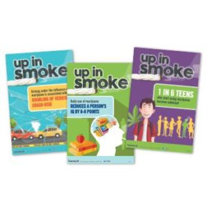 "Marijuana ""Up in Smoke"" 3 Poster Pack"