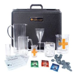 The SUM-IT-CUP® (Standard Unit of Measure) Complete is an alcohol educational tool designed to allow adults to pour and measure the number of standard drink units in popular alcohol beverages.