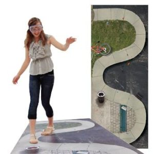 The DIES® Winding Sidewalk Mat is designed to help you raise awareness about one's susceptibility to the dangers of alcohol impairment.