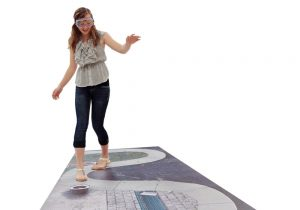 Walk the line is one of the alcohol awareness activities you can do with Fatal Vision drunk goggles.