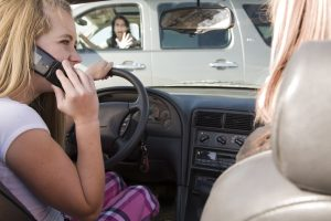 Distracted driving simulators help teach about the dangers of texting and driving.