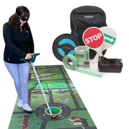 This drowsy and distracted driving education products kit teaches about the dangers of driving drowsy or distracted.